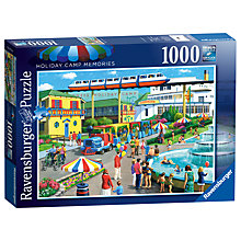Buy Ravensburger Holiday Camp Memories Jigsaw Puzzle, 1000 pieces Online at johnlewis.com
