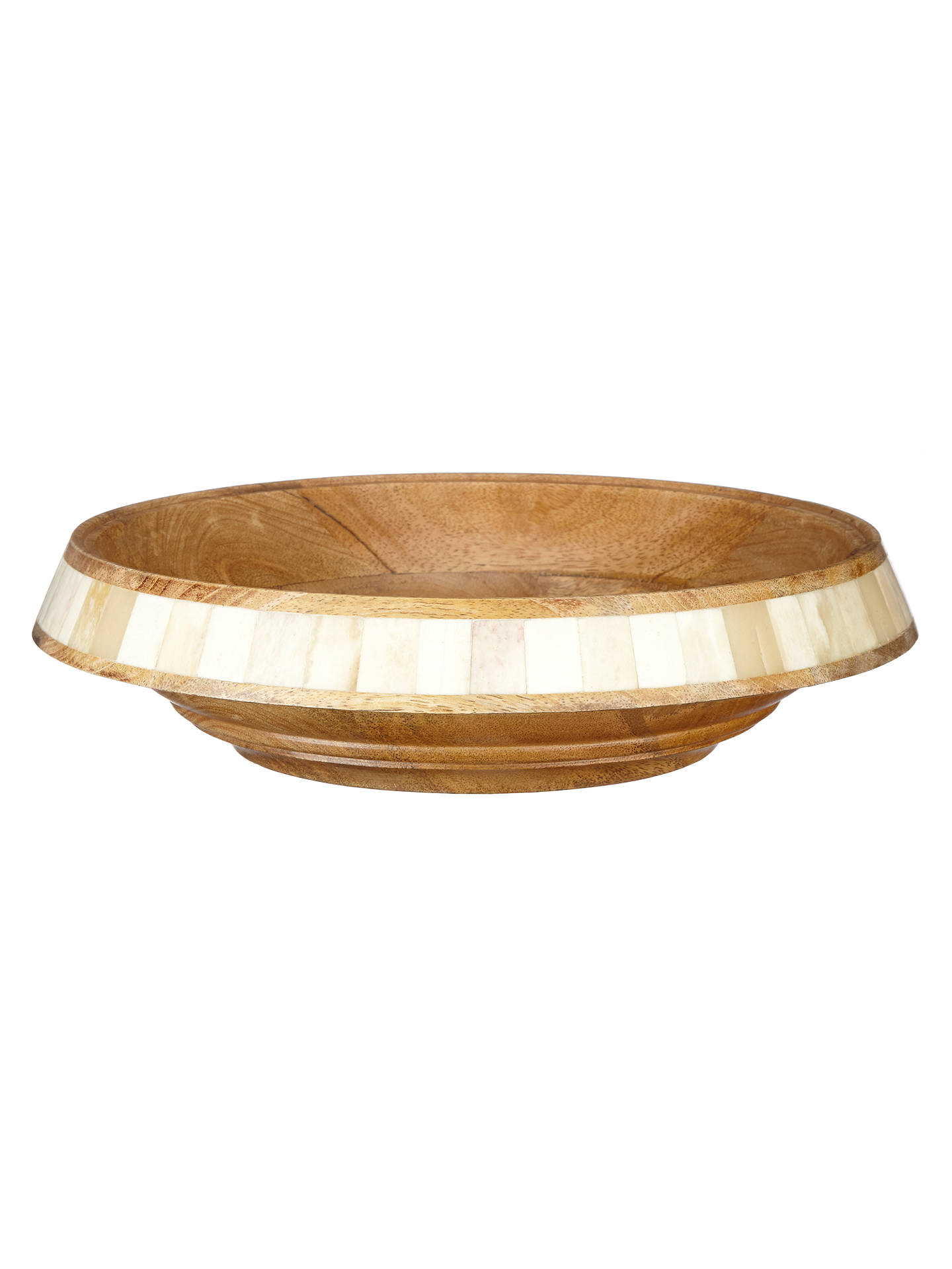 81a174a0c1f9 Buy John Lewis Fusion Wooden Bowl, Large Online at johnlewis.com ...