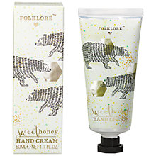 Buy Folklore Sweet Honey Bear Hand Cream Online at johnlewis.com