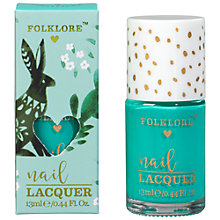 Buy Folklore Rabbit Nail Polish, Mint Elderflower Online at johnlewis.com