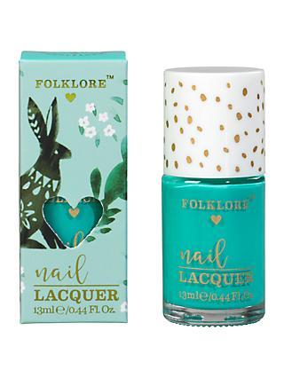 Folklore Mint and Elderflower Rabbit Hand Cream at John