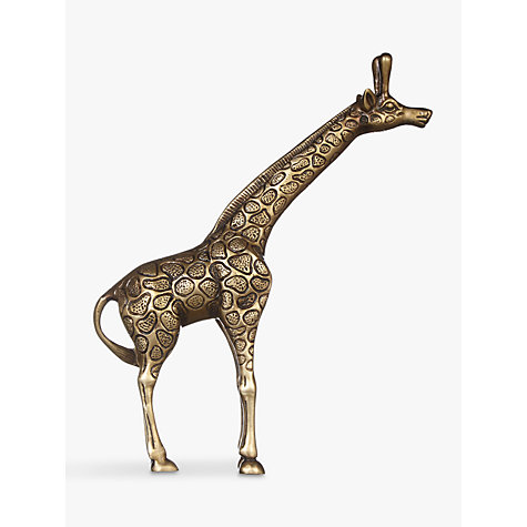 Buy John Lewis Fusion Antique Brass Giraffe Ornament Online at johnlewis.com