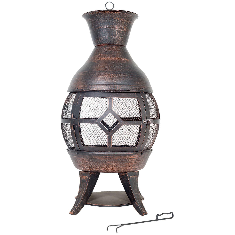 BuyLa Hacienda Sherington Cast Iron Chiminea Online At Johnlewis.com ...