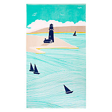 Buy John Lewis Coastal Newfoundland Beach Towel Online at johnlewis.com