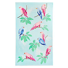 Buy John Lewis Parrots Beach Towel Online at johnlewis.com