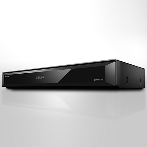 Buy Panasonic DMP-UB700EBK Smart 4K UHD Blu-Ray/DVD Player with Built-in Wi-Fi, High Resolution Audio & Miracast, Ultra HD Premium Certified Online at johnlewis.com