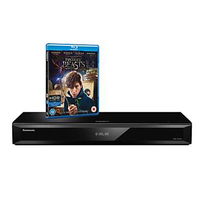 Panasonic DMP-UB700EBK Smart 4K UHD Blu-Ray/DVD Player with Built-in Wi-Fi, High Resolution Audio & Miracast, Ultra HD Premium Certified
