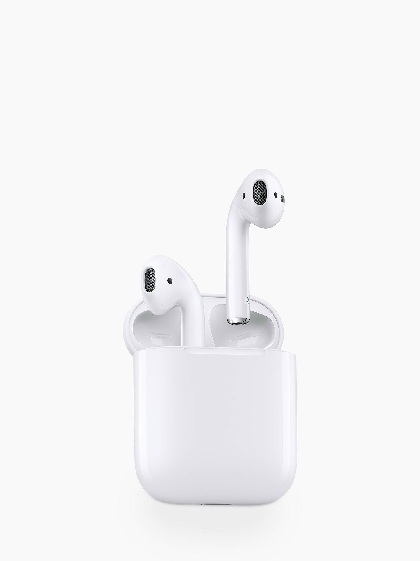 a08be6ca034 Buy 2016 Apple AirPods with Charging Case Online at johnlewis.com ...