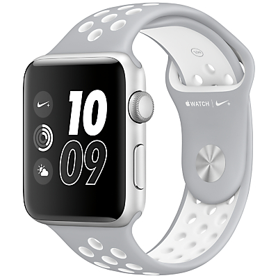 Apple Watch Nike+ 42mm Silver Aluminium Case with Nike Sport Band