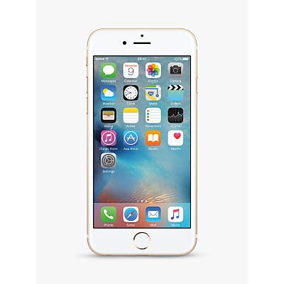 Image of Apple iPhone 6s, iOS, 4.7, 4G LTE, SIM Free, 32GB