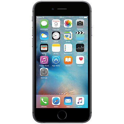 Apple iPhone 6s, iOS, 4.7, 4G LTE, SIM Free, 32GB