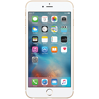 Apple iPhone 6s Plus, iOS, 5.5, 4G LTE, SIM Free, 32GB