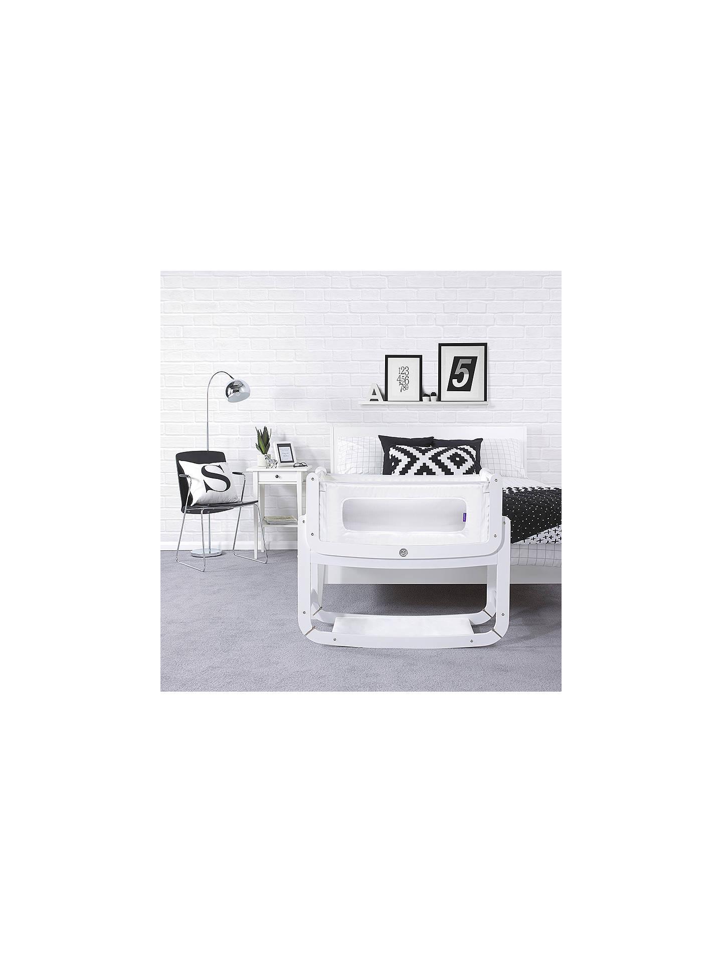 Sn 252 Z Snuzpod2 3 In 1 Co Sleeping Crib White John Lewis