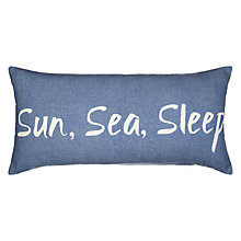 Buy John Lewis Coastal Sun, Sea, Sleep Cushion Online at johnlewis.com