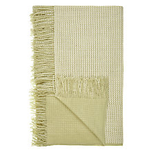 Buy John Lewis Knitted Throw, Fern Online at johnlewis.com