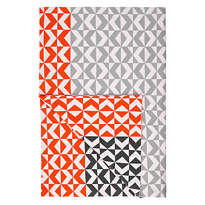 House by John Lewis Chevron Knitted Throw