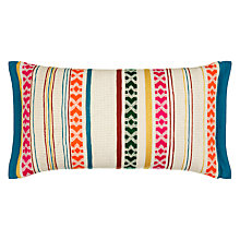 Buy John Lewis Neon Stripe Cushion Online at johnlewis.com