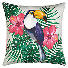 Buy John Lewis Toucan Cushion Online at johnlewis.com