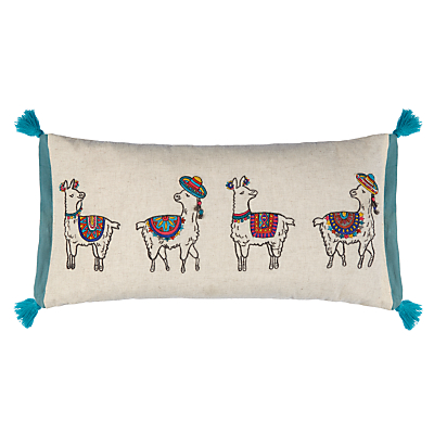 John Lewis Party Llamas Cushion