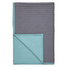 Buy John Lewis Scandi Reversible Quilted Bedspread Online at johnlewis.com