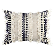Buy John Lewis Fusion Textured Stripe Cushion Online at johnlewis.com