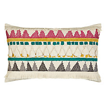 Buy John Lewis Tassle Pom Pom Cushion Online at johnlewis.com