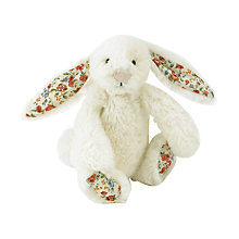 Buy Jellycat Bashful Blossom Bunny Soft Toy, Tiny, Cream Online at johnlewis.com