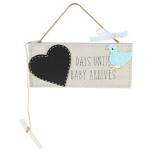 Buy John Lewis 'Waiting for Baby' Chalkboard Online at johnlewis.com