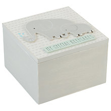 Buy John Lewis Baby Elephant Keepsake Box Online at johnlewis.com