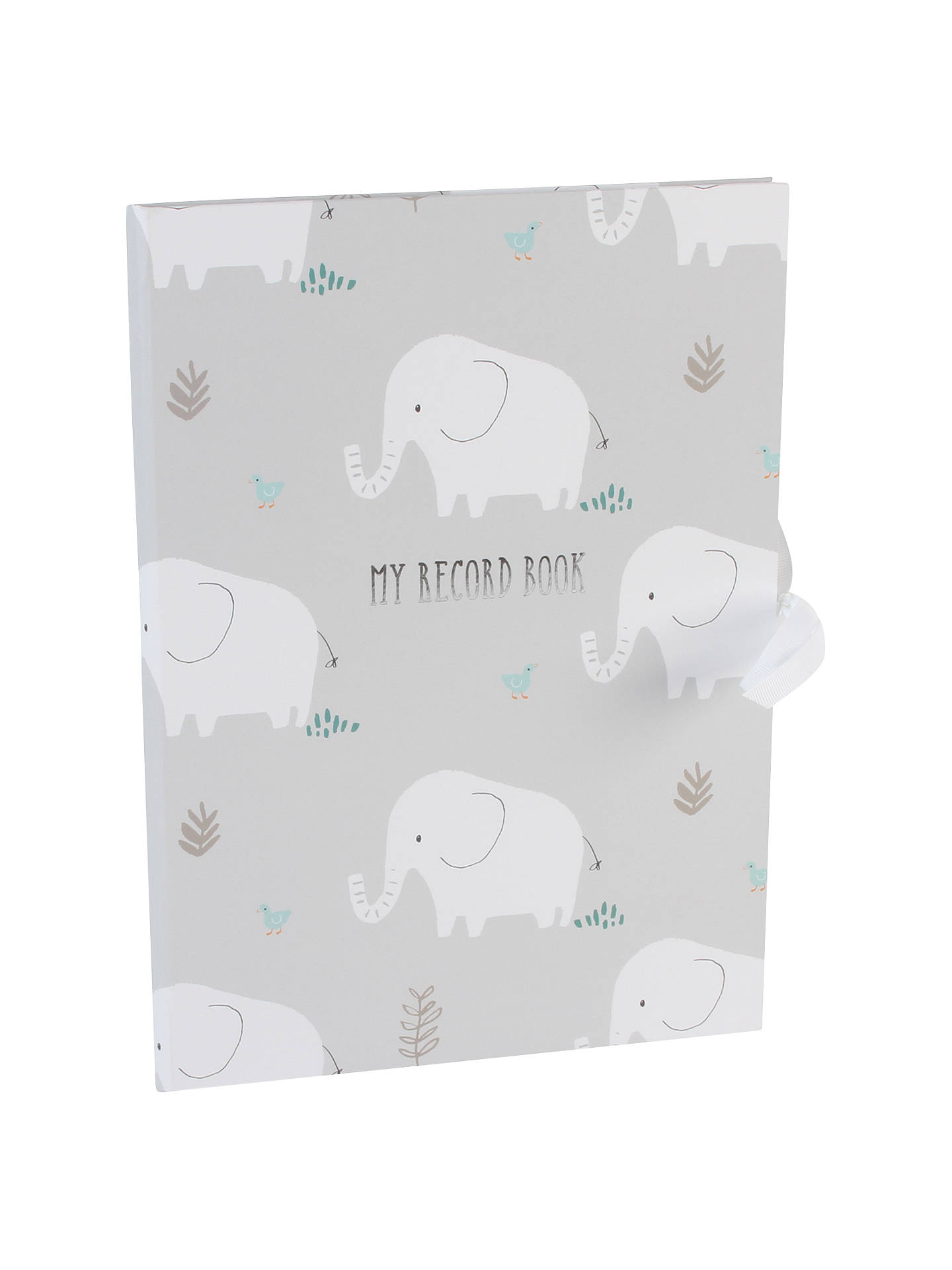 304974b9aa1a Buy John Lewis Baby Elephant Record Book Online at johnlewis.com ...