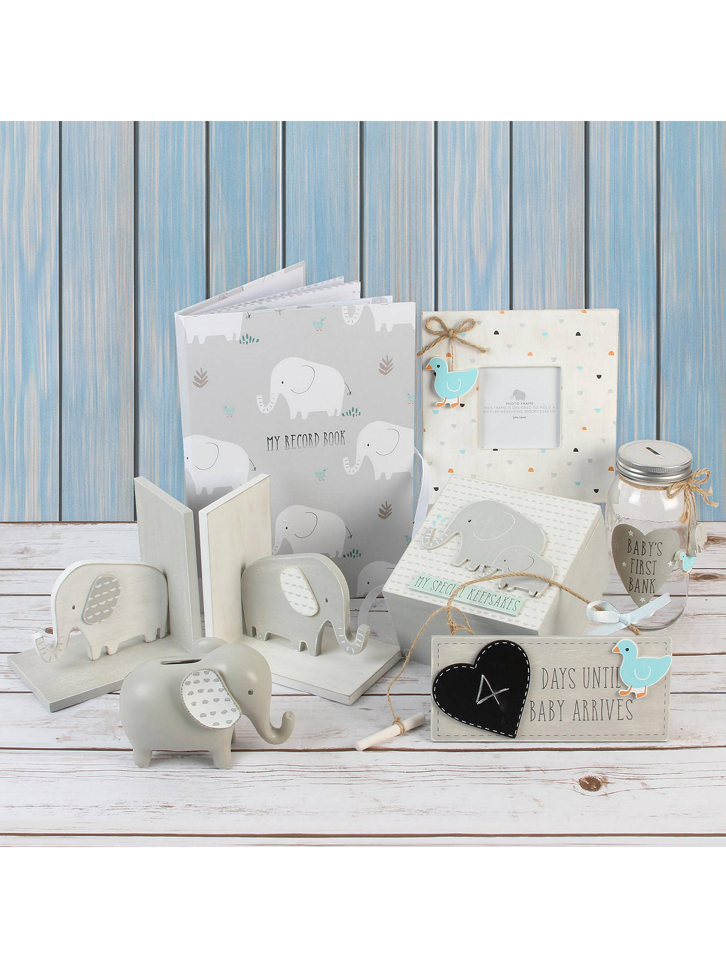 John lewis baby elephant record book at john lewis partners for John lewis home design service reviews