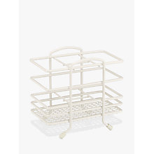 Buy John Lewis Cutlery Basket, 4 Compartments, Cream Online at johnlewis.com