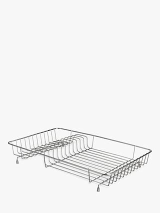 John Lewis   Partners Stainless Steel Deep Dish Drainer e380ad979c