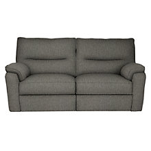 Buy John Lewis Carlisle Medium 2 Seater Power Recliner, Light Leg, Catrin Charcoal Online at johnlewis.com