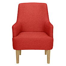 Buy John Lewis Perth Armchair, Bevan Red Online at johnlewis.com