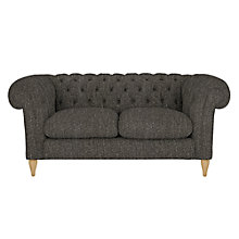 Buy John Lewis Cromwell Chesterfield Small 2 Seater Sofa, Light Leg Online at johnlewis.com
