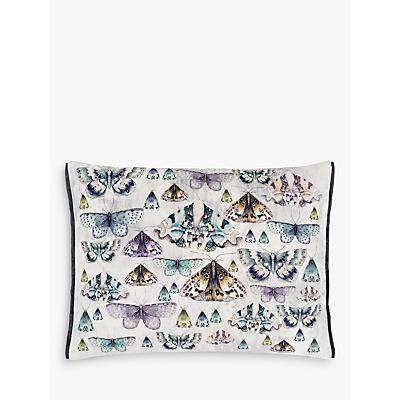Designers Guild Issoria Cushion, Zinc