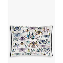 Buy Designers Guild Issoria Cushion, Zinc Online at johnlewis.com
