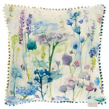 Buy Voyage Cornfield Cushion, Multi Online at johnlewis.com