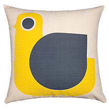 Buy Orla Kiely Hen Cushion, Yellow Online at johnlewis.com