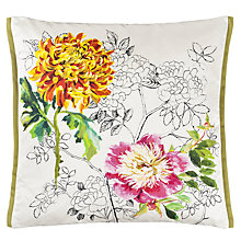Buy Designers Guild Sibylla Cushion, Fuchsia Online at johnlewis.com
