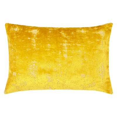 John Lewis Distressed Velvet Cushion