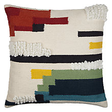 Buy John Lewis Ream Blocks Cushion, Multi Online at johnlewis.com