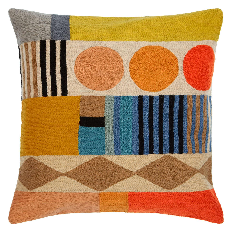 offer john lewis geo club cushion multi at john lewis. Black Bedroom Furniture Sets. Home Design Ideas