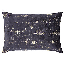 Buy John Lewis Distressed Velvet Cushion Online at johnlewis.com