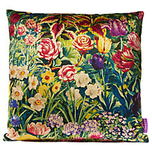 Buy Liberty Gail's Garden Cushion, Dawn Online at johnlewis.com