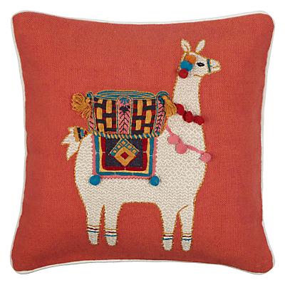 John Lewis Llama Cushion, Multi