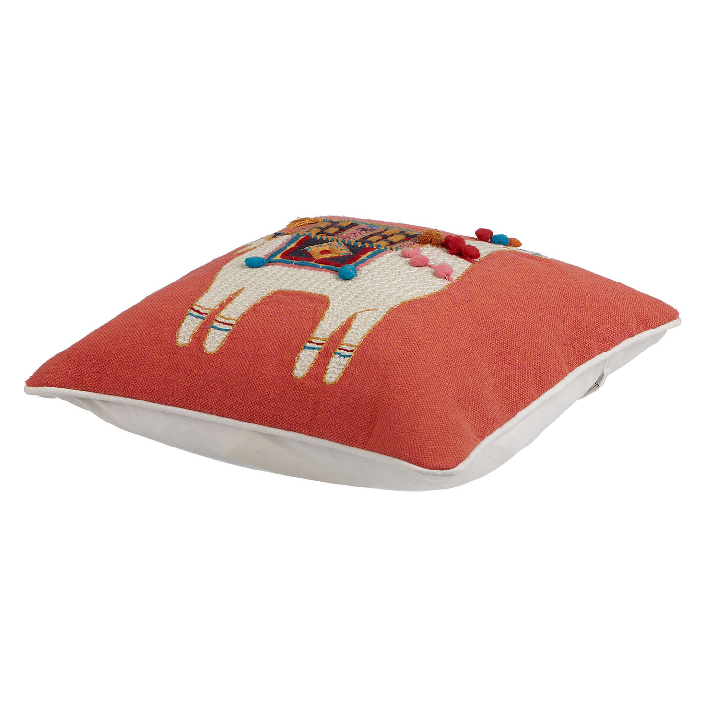BuyJohn Lewis Llama Cushion, Multi Online at johnlewis.com