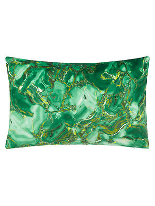 Buy John Lewis Azuni Cushion, Green Online at johnlewis.com