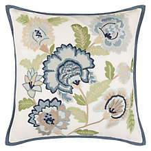Buy John Lewis Grace Floral Cushion Online at johnlewis.com